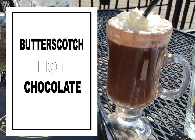 BUTTERSCOTCH HOT CHOCOLATE - Beautiful Life Magazine