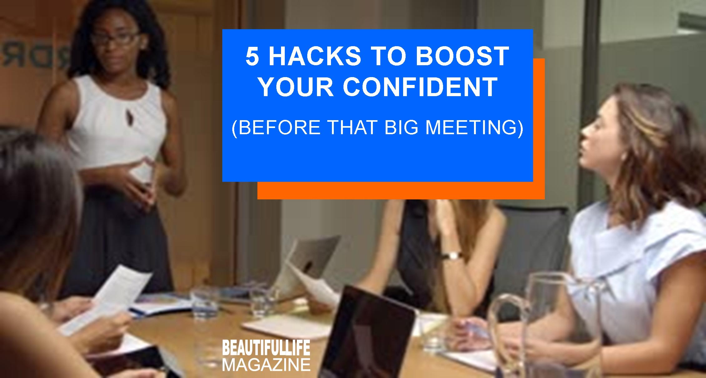 With confidence in you next job interview, client meeting, or public speaking engagement, you're going to walk in like you own the place. Here's how